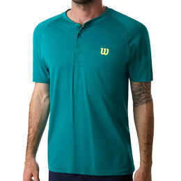 Competition Seamless Henley Tee Men