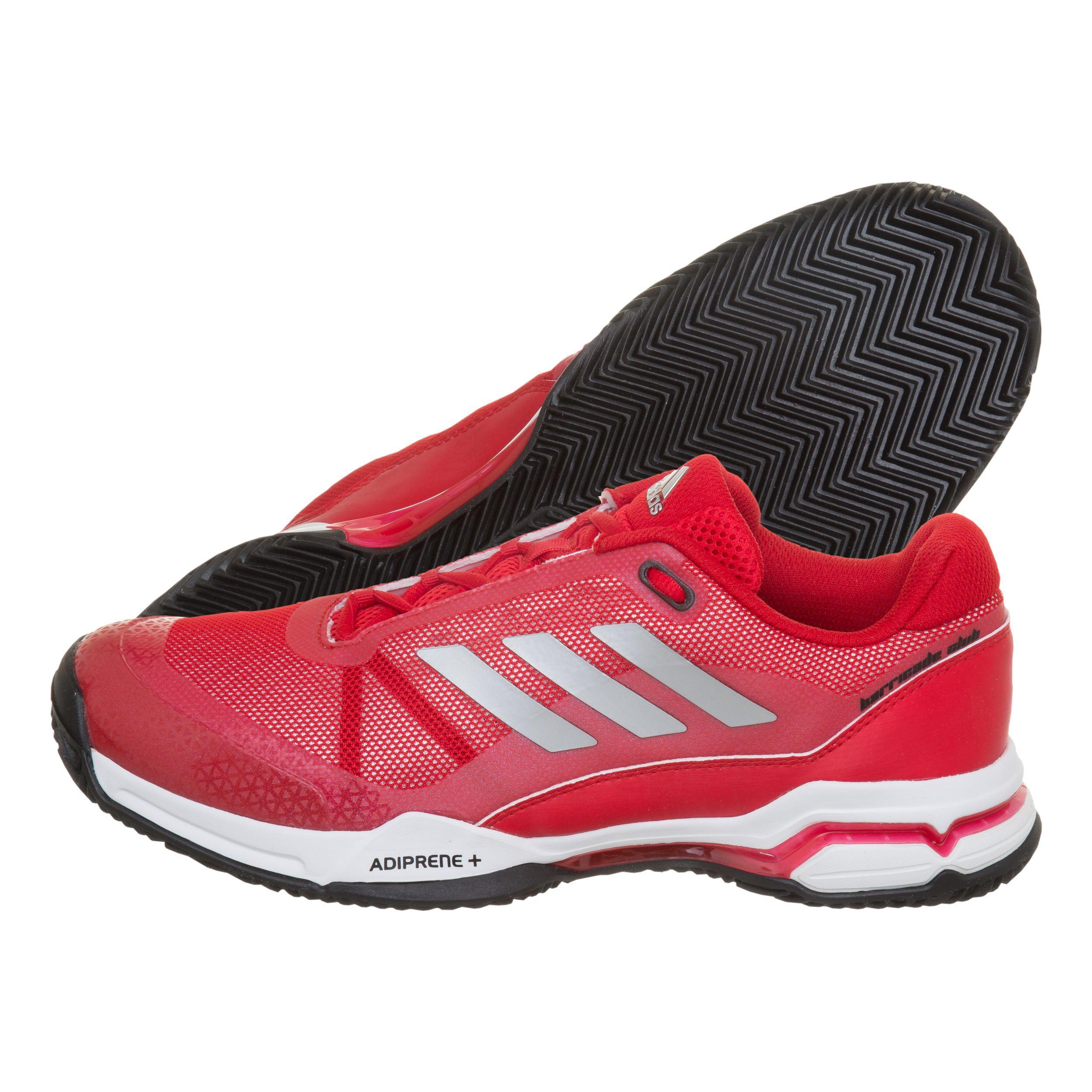 Clay Terra Club Adidas Uomini Rosso Barricade Scarpa Rossa Per EIWYDeH92