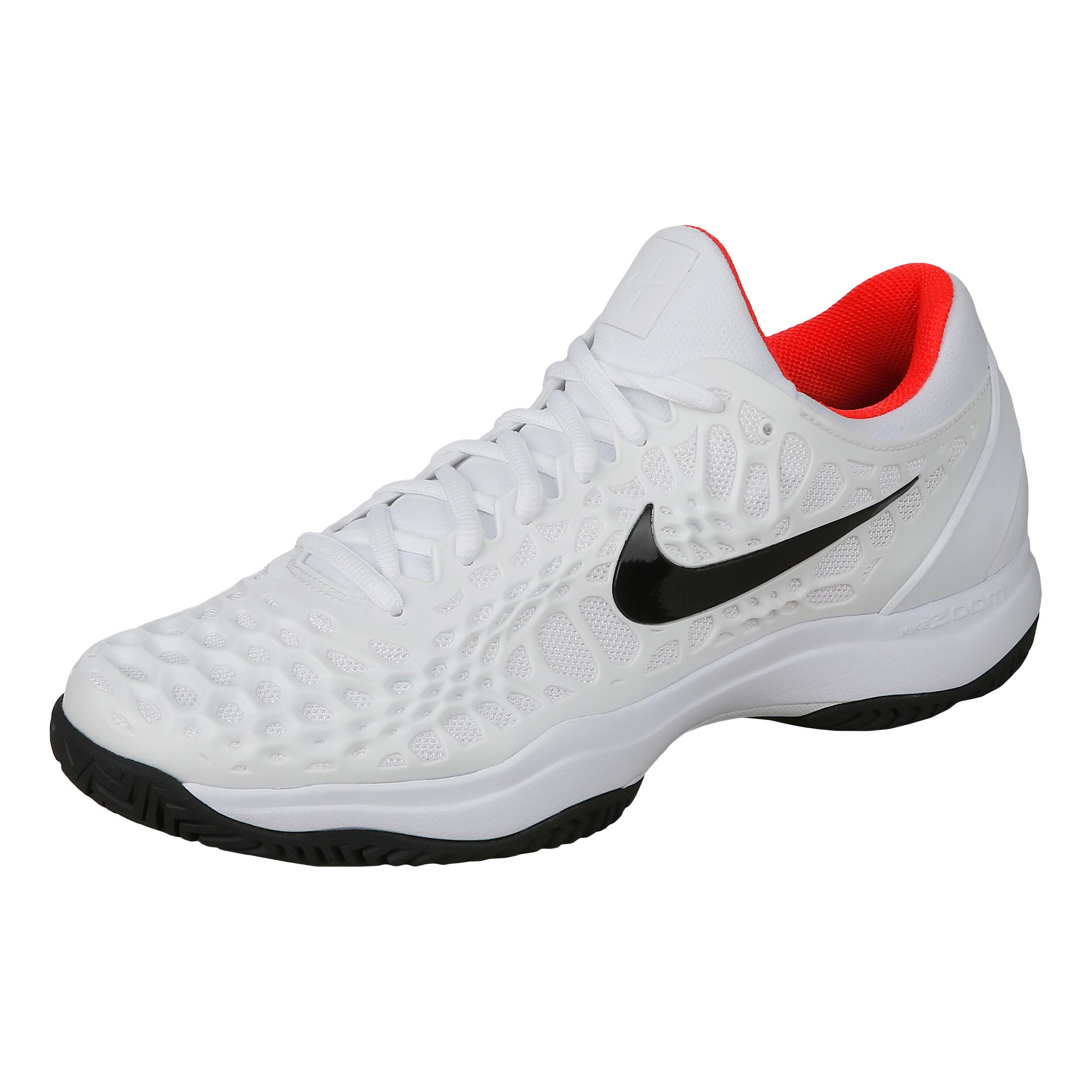 Nike Air Zoom Cage 3 HC Scarpa Per Tutte Le Superfici Uomini Bianco, Nero