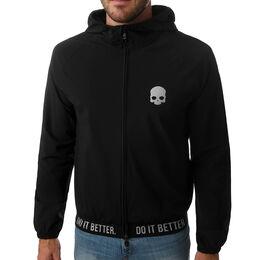 Skull Tech Full-Zip Hoodie Men
