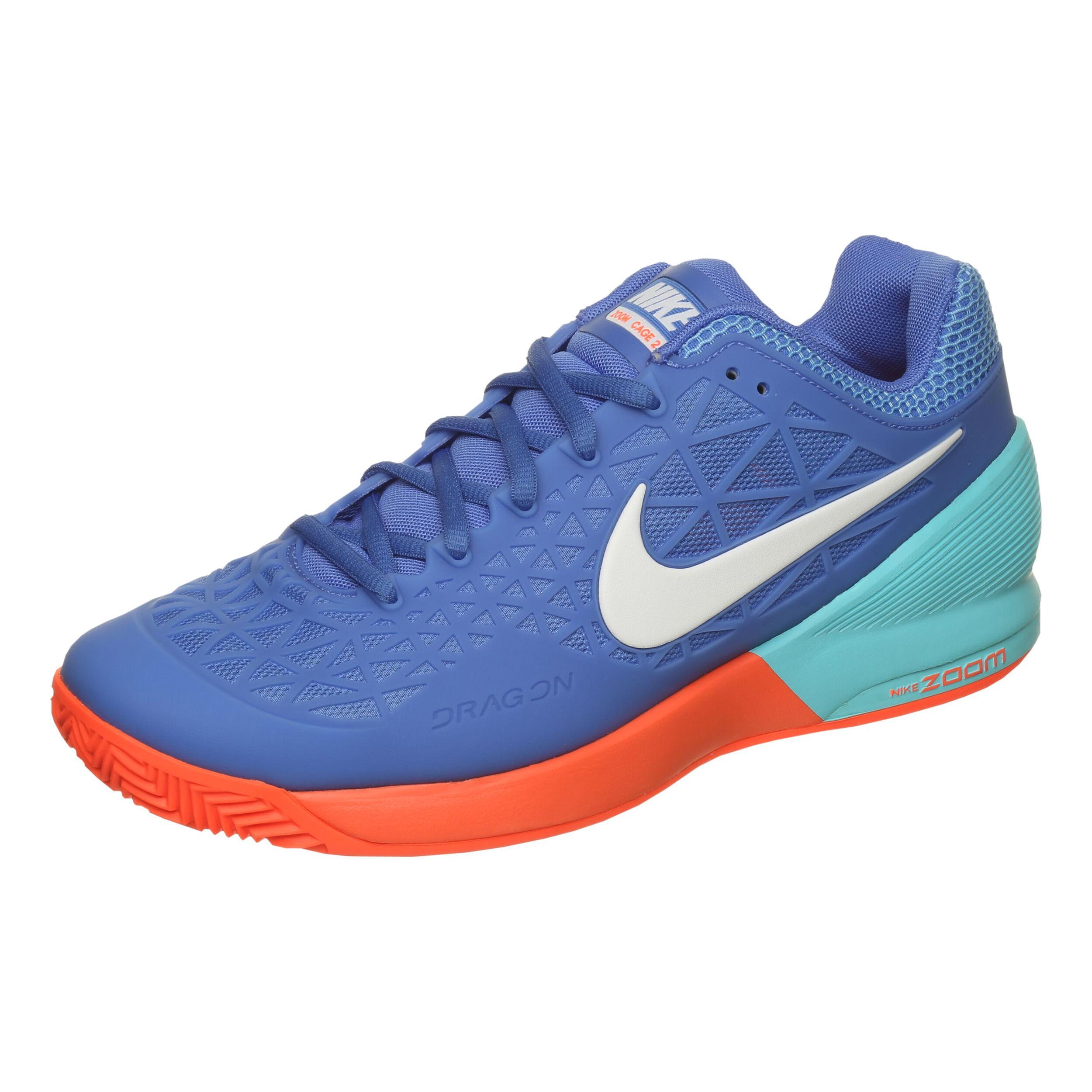 Nike Zoom Cage 2 Clay Scarpa Per Terra Rossa Uomini Blu
