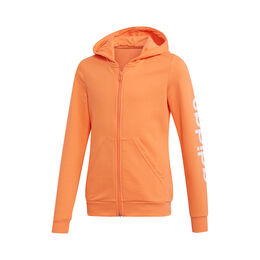 Essential Linear Full-Zip Hoodie Girls