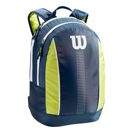 JUNIOR BACKPACK Navy/Lime Green/White