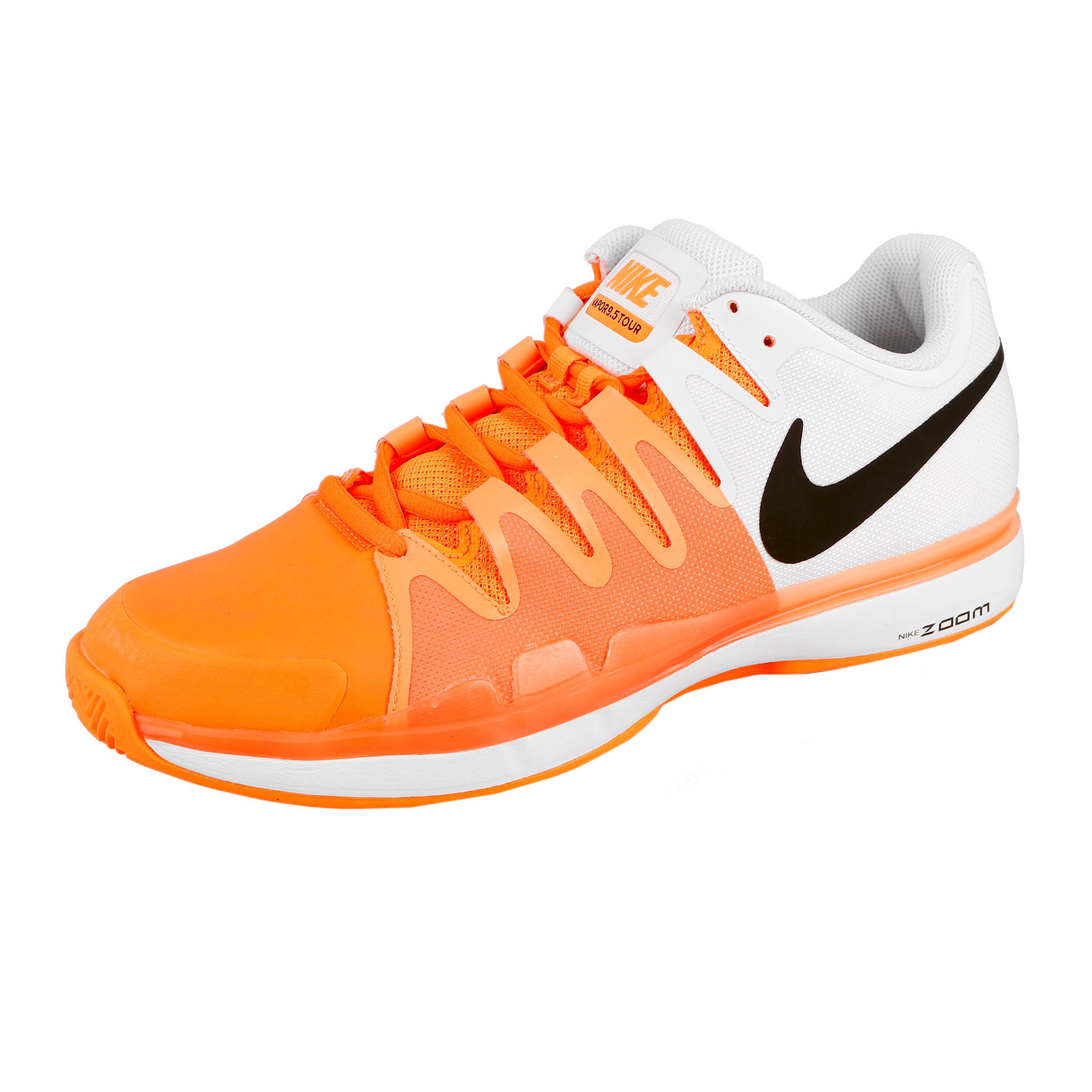 Nike Zoom Vapor 9.5 Tour Clay Scarpa Per Terra Rossa Uomini Arancione, Bianco