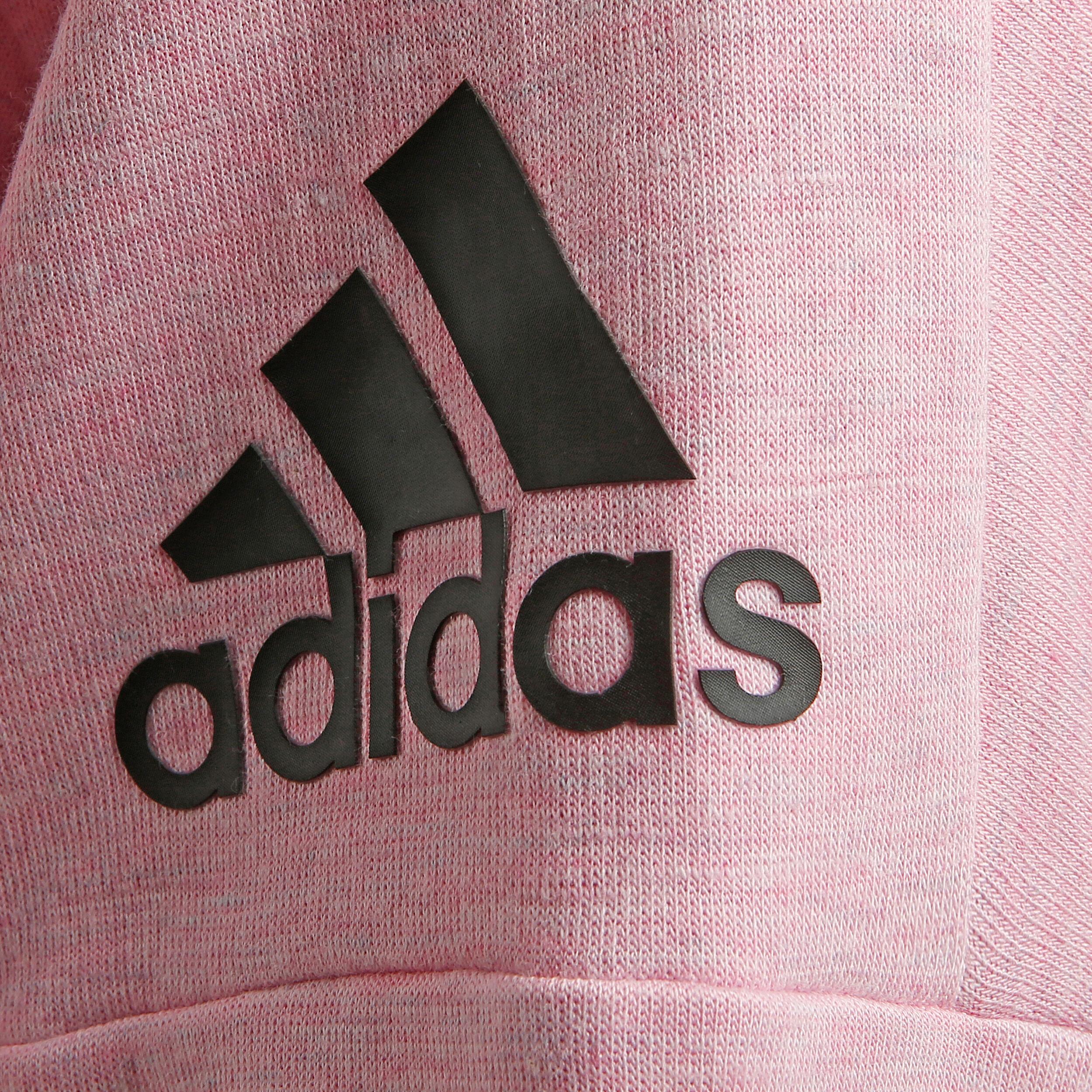 adidas ID Stadium Felpa Donna Rosa, Nero compra online