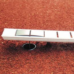Ideala I 4 cm breit, mit Bodenanker in L-Form