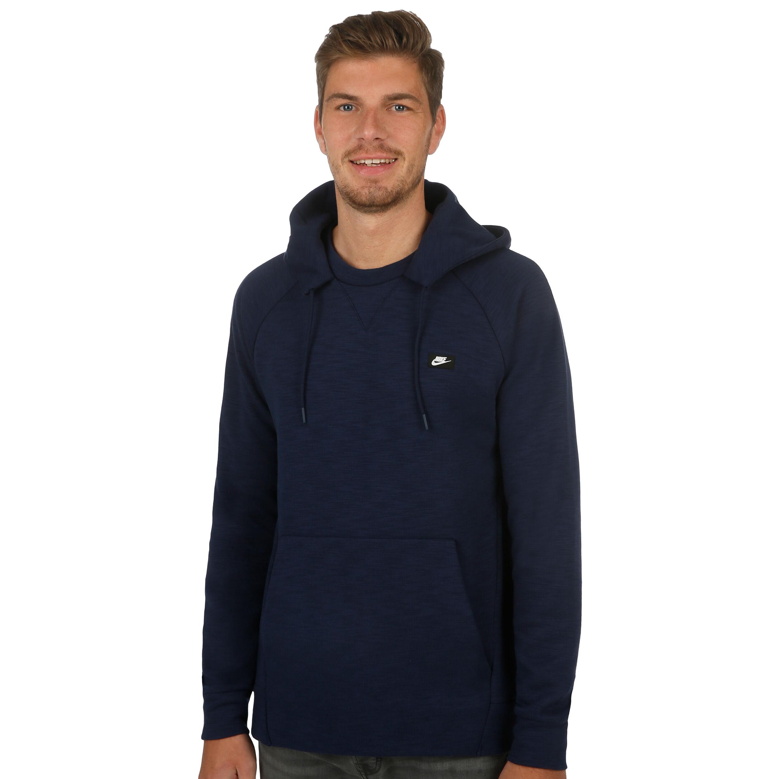 Acquista Optic Fleece hoodie uomo Nike Sportswear in nero