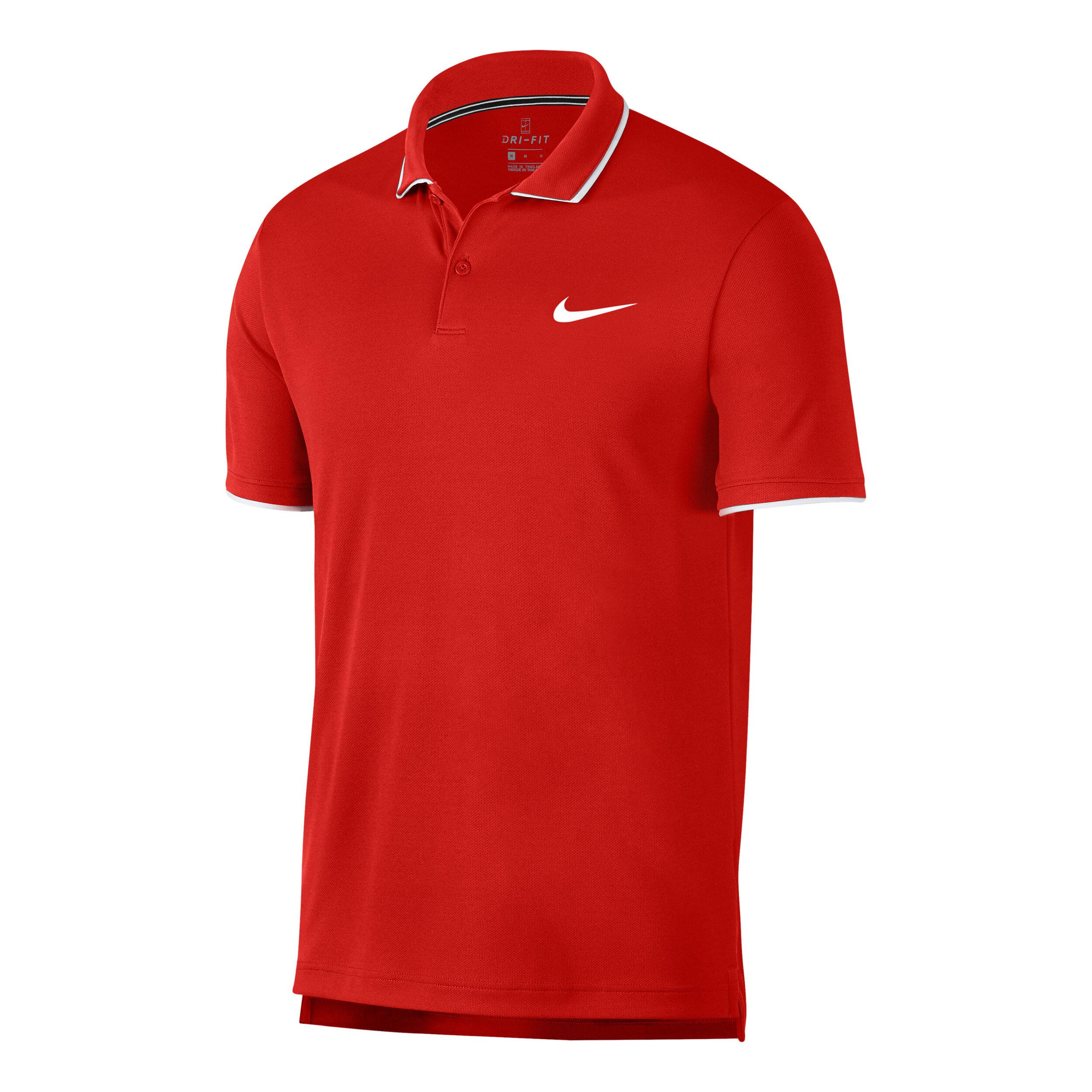 Uomo Nike Polo Tennis Team Court Maglie Nike Uomo Taglio