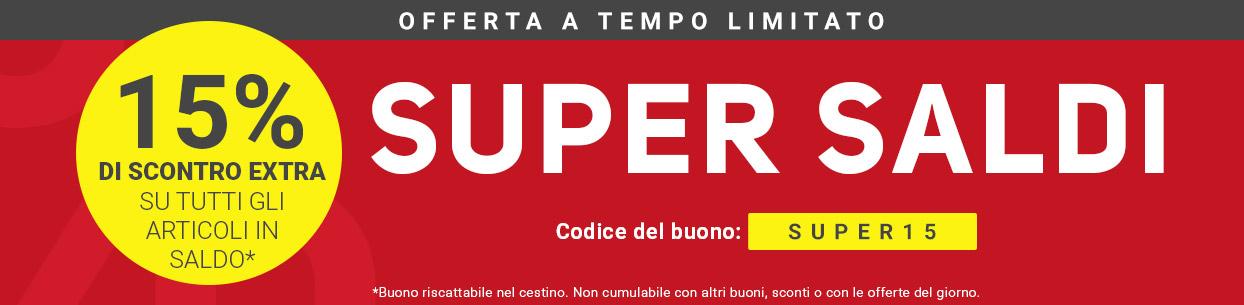 SALDI % compra online | Tennis Point